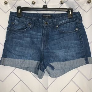 Banana Republic petite jean short size 28